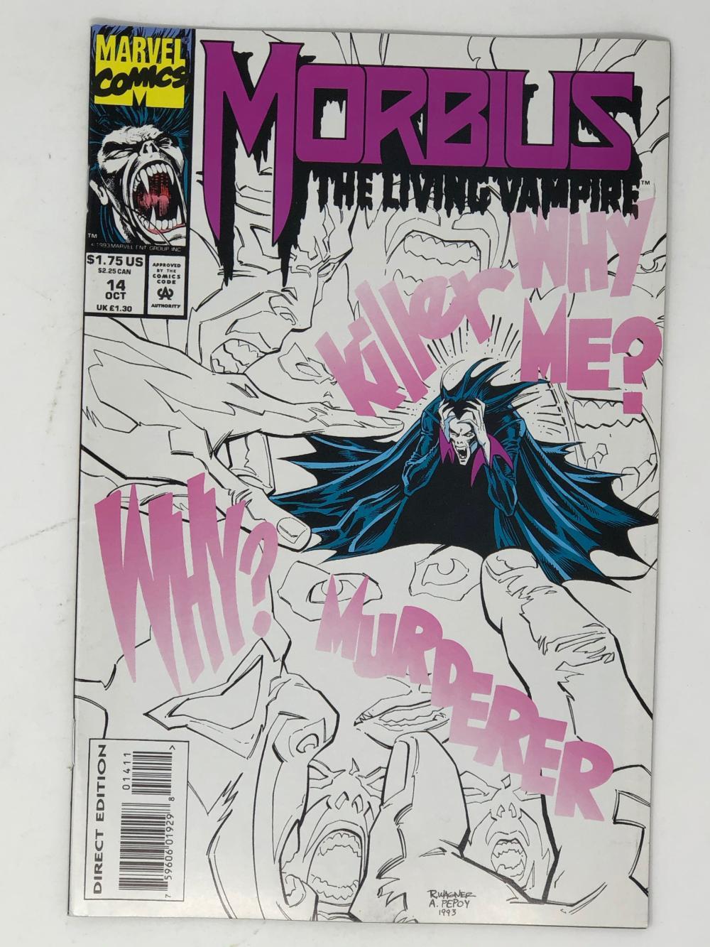 MARVEL, MORBIUS the living vampire 14
