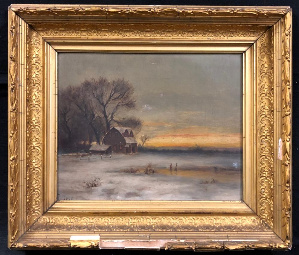 Signed Late 19TH Century Landscape Oil Painting