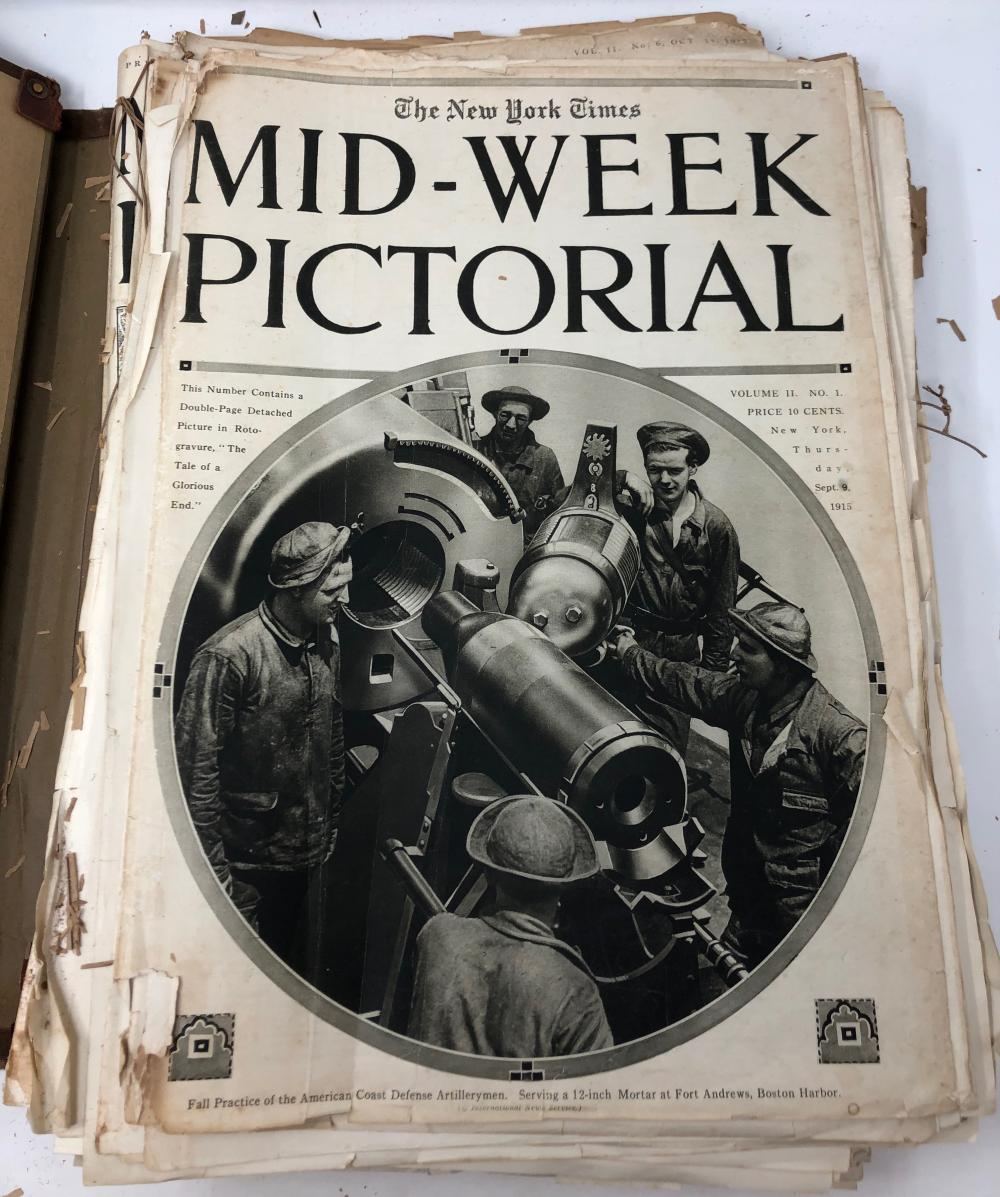 Mid-Week Pictorial NY Times, War Extra, Vol II No 1 Sep