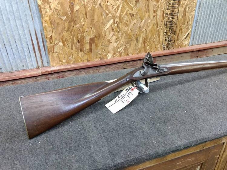 12ga Flint Lock Shotgun early kit gun serial number NA