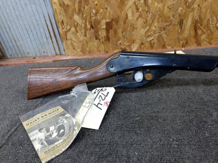 Vintage Daisy BB Gun with literature