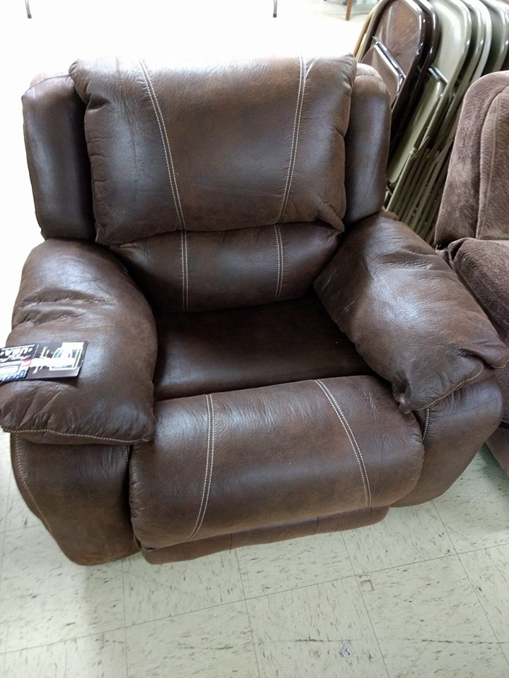 Surprising Simmons Leather Swivel Rocker Recliner Saddle Leather Brown Caraccident5 Cool Chair Designs And Ideas Caraccident5Info