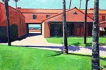 Kim Frohsin - LBTC: Courtyard / La Jolla Beach and Tennis Club