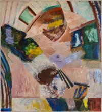 Elmer Bischoff 'Untitled No 111'