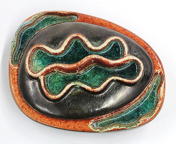 Mid Century Design Technics ceramic covered vessel
