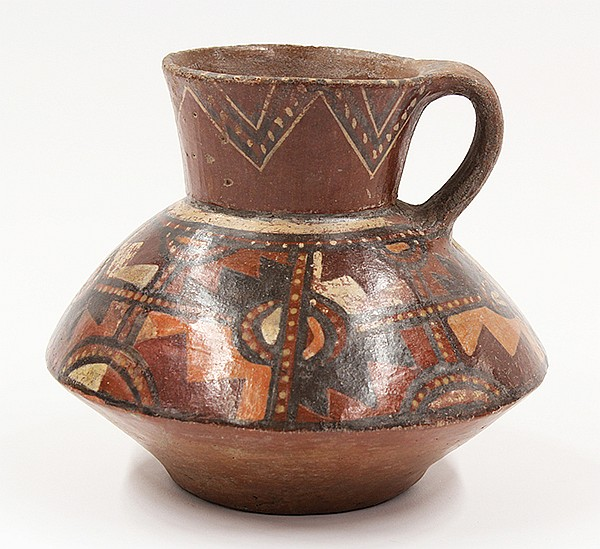 Tiahuanaku, South Coast Peru, AD 700-1000, olla