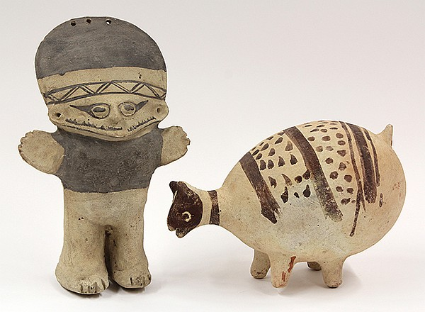 Chancay culture, Central Coast Peru, AD 1000 figures