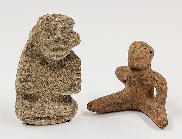 Pre-Columbian figures