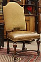 Continental style hall chair