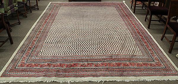 Persian Botemir carpet circa 1940, 8'11