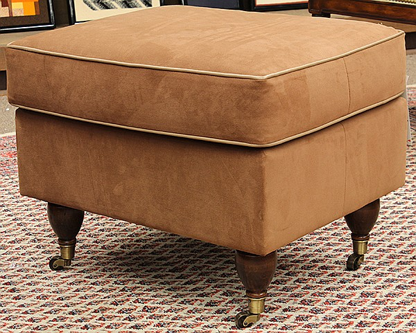 Classical style ottoman