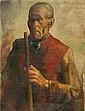 Painting, Gustaaf de Bruyne, Shepherd