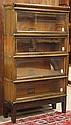Globe Wernicke oak stackable barrister bookcase circa 1920