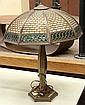 Wilkinson Arts and Crafts overlay panel  table lamp