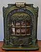 French Art Nouveau wood burning stove