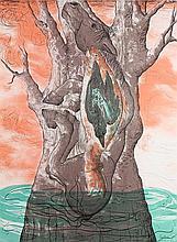 Print, Melissa Miller, Fossil, 1998