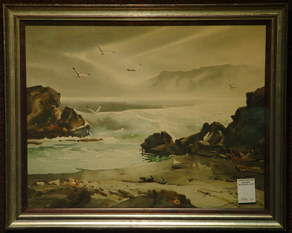 Watercolor, Robert Landry