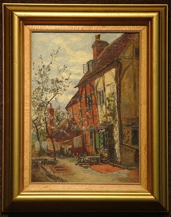 Oil, William Young, British, landscape