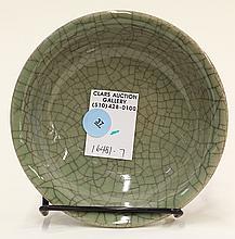 Chinese Celadon Glazed Dish