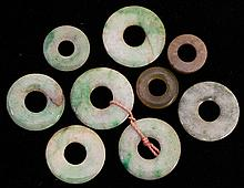 Chinese Jade Bi-Disks