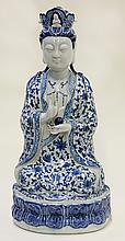 Chinese Blue-and-White Guanyin