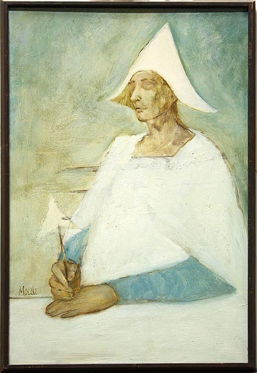 Paintings, Robert Moesle, Figures