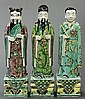 Chinese Famille Verte Porcelain Immortals