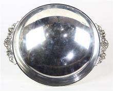 German silver 830 grape bowl