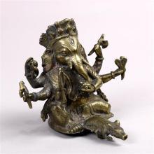 Indian Bronze Ganesha