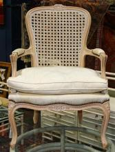 French Provincial style fauteuil