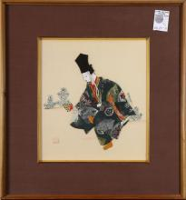 Japanese Prints of Noh Mask