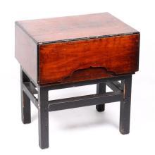 Japanese Wooden Cash Box