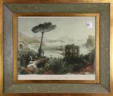 Prints, Fortrefs of Ehrenbreiststein, Rhine, Monte Pellegrino Palermo...