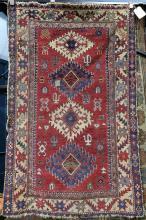 Caucasian carpet, 5'11