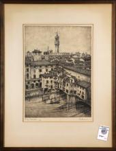 Print, Firenze-Ponte Vecchio