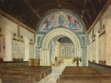 Watercolors, American Landscapes and Inside the Chapel