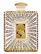 Rene Lalique perfume bottle, Houbigant's 'La Belle Saison'