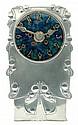 Liberty & Co Tudric clock by Archibald Knox