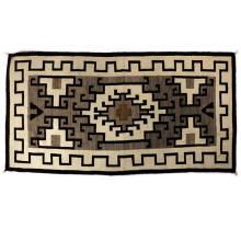 Navajo Two Grey Hills blanket