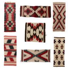 (lot of 7) Navajo gallup throws