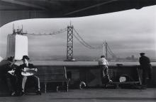 Photograph, Peter Stackpole, Building of the Bay Bridge