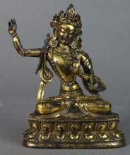Himalayan Bronze Bodhisattva
