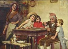 Painting, Gaetano Bellei