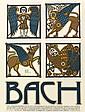 Lithographs, David Lance Goines, Bach
