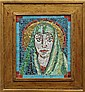 Mosaic, George Dick, Virgin Mary
