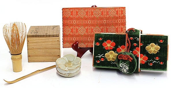 (lot of 8) Japanese Tea Ceremony  Items