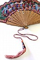 Chinese Export Fan and Box