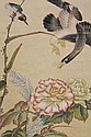 Chinese Scroll,  Ma Yuanyu (after), Bird/Flower