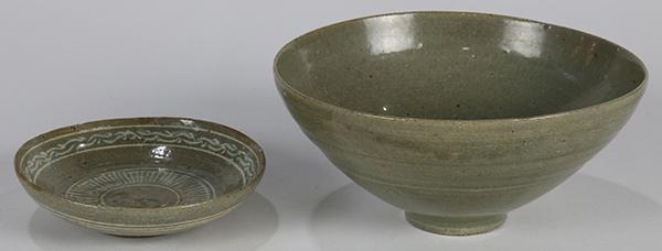 Korean Celadon Glazed Bowl/Dish