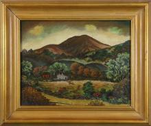 Painting, Miles Emil Holmes